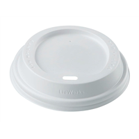 White Dome Sipper Lids
