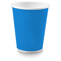 Electric Blue Stock Cups