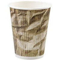 Crumpled Stock Cup Design